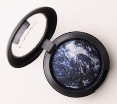 MAC Blue Flame Mineralize Eyeshadow. Bought this this week and it is SO PRETTY  on.