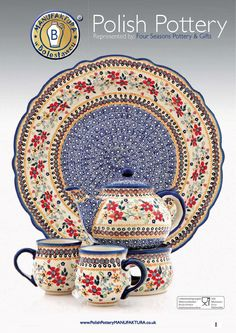 If you collect #PolishPottery you will LOVE looking through our 2013/14 Catalogue that shows you all the different decoration styles, patterns and designs we current stock from MANUFAKTURA Take a closer look here:: http://polishpotterymanufaktura.com/?page=Our-Catalogues#/Decoration%20Styles/0
