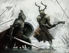 Game of Thrones: Cast A Large Shadow, Battle Of the Trident, By Tom Graham. Game Of Thrones Artwork, Game Of Thrones Books, Fantasy Armor, Medieval Fantasy, Character Art, Character Design, Game Of Trones, Armadura Medieval, Fire Art