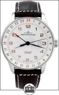 Zeno-Watch Reloj Mujer - X-Large Retro GMT (Dual Time) - P554GMT-f2  ✿ Relojes para mujer - (Lujo) ✿