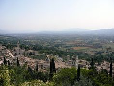 Asissi Overlook Umbria, Italy,Gabriels Inferno By Sylvain Reynard