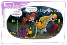 Pocket Princesses 224: Happy Halloween! Please reblog, don't repost, edit or remove captions Facebook - Instagram