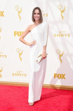 Louise Roe in Halston Heritage
