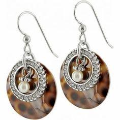 Fancy and dressy leopard print earrings.new Sanibel, from Brighton! Brighton Earrings, Brighton Jewelry, Shell Earrings, Wire Earrings, Glass Jewelry, Jewellery, Ankle Bracelets, Jewelry Accessories, Jewelry Ideas