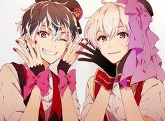 Momo rin and Sou cha Momo rin and Sou chan Cute Anime Boy, Anime Guys, Manga Anime, Anime Art, Gamers Anime, Image Manga, Shall We Date, Bishounen, Ensemble Stars