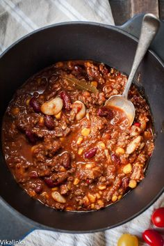 Texas-style chili is the best comfort food