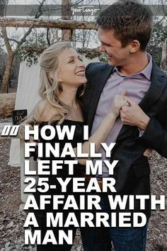 Being the other woman is nothing to be proud of, but by having an affair with a married man, you're settling for the title. But what happens when you finally end the affair after over two decades together? #infidelity #cheating #cheater #married #marriage #affair