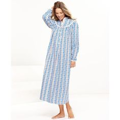 Lanz Of Salzburg Nightgown, Flannel Nightgown ($64) ❤ liked on Polyvore Flannel Nightgown, Flannel Pajamas, Nightgowns For Women, Salzburg, Winter Wardrobe, Fall Winter, Autumn, Modest Fashion, Night Gown