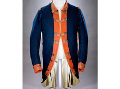 Continental Army uniform coat worn by Colonel Peter Gansevoort Jr. of the 3rd Regiment of the New York Continental Line. He wore this coat during his command of Fort Stanwix, New York, in 1777.
