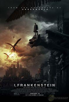 "Nuevo póster de ""Yo, Frankenstein"""