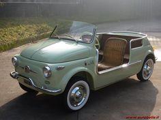 Fiat 500 Jolly Ghia cutest lil car!