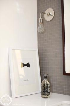 Spotlight On The Cross Interior Design Cross Love, Vanity Lighting, Wall Tiles, Spotlight, Mirror, Interior Design, Home Decor, Bathrooms, Classic