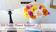 DIY Handmade Paper Flower Bouquet