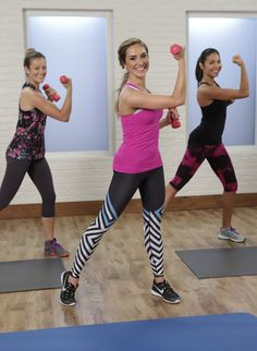 This 20-minute video is the perfect at-home workout. Trainer Christine Bullock leads this Class FitSugar, and she makes sure that every move works multiple muscle groups to help you feel strong, sexy, and sculpted to hit your Summer sweet spot.