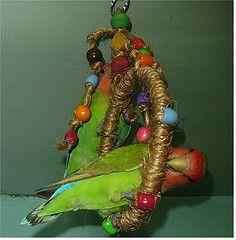 HOMEMADE bird toys - Google Search