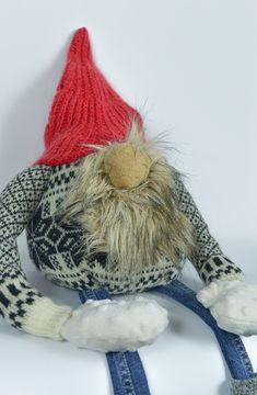 Handmade dwarfy lumberjack:) Upcycled