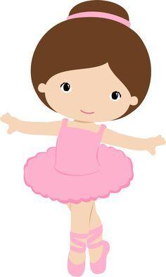 printable cute ballerina clip art beautiful little ballerina girl rh pinterest com ballet clip art free download ballet shoes clipart free