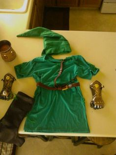Make a cute link costume with a green t shirt. & Easy DIY Costume: Link for Kids | Geeks Under Grace | Looking for ...