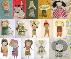 mais bonecas de papel / ana ventura paper dolls