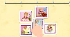 Images séquentielles - Ernest et les Petits Malins en classe