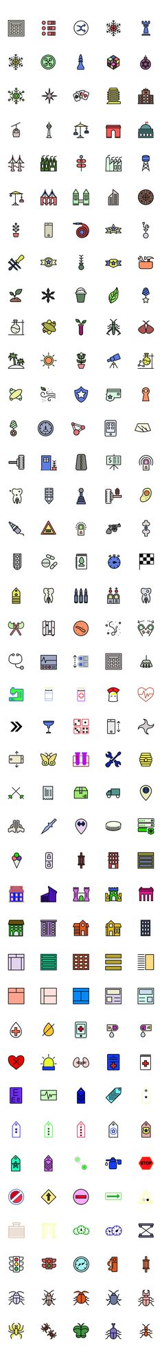 Take a look at this large collection of 200 colored free icons. They're optimized for iOS, are pixel perfect and cover multiple categories so you can use them in a wide range of next projects. Check them out and add these free icons to your library for free!
