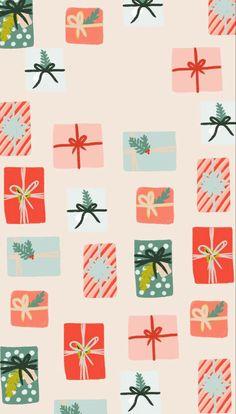 Christmas Theme Wallpaper, Christmas Phone Backgrounds, Pretty Backgrounds For Iphone, Christmas Lockscreen, Xmas Wallpaper, Vintage Flowers Wallpaper, Apple Watch Wallpaper, Cute Patterns Wallpaper, Christmas Background