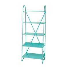 This mint-colored stacking shelf is not only modern and chic: it blends well with a boho atmosphere. Add a few orange accent pieces and fill this shelf up with books, knickknacks, even kitchen supplies...  Find the Fifth Floor Shelf, as seen in the Modern Bohemian Kitchen Collection at http://dotandbo.com/collections/modern-bohemian-kitchen?utm_source=pinterest&utm_medium=organic&db_sku=CBK0088