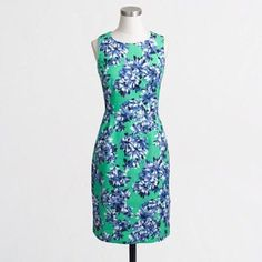 NWOT J.Crew Roz Floral Dress adorable side pockets // like new condition // vibrant colors // price firm unless bundled // sold out J. Crew Dresses