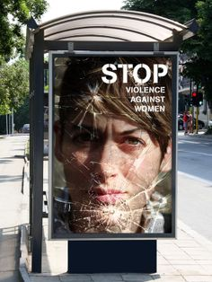stop violence against women advertising say no to violence against