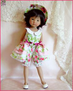 "SALSA  Dress  for Effner 13"" Little Darling"