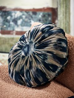 "GLORIA is a majestic cotton velvet with a leopard print, this ""animal skin"" stands out thanks to its large-scale pattern and refined colors. Cushions On Sofa Color Schemes, Cushions For Grey Sofa, Living Room Cushions, Sofa Colors, Sofa Cushion Covers, Sofa Pillows, Homemade Pillows, Custom Carpet, Diy Cushion"