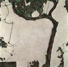 Egon Schiele / Autumn Tree ]