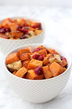 Roasted Cinnamon Sweet Potatoes & Apples - Unbound Wellness