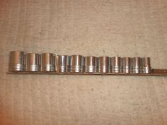 "Snap-On 1/2"" Drive Socket Set Standard 8 point 12 piece tools find me at www.dandeepop.com"