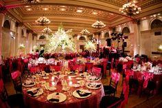 """Tremont Grand, Baltimore  """"Let the beautiful surroundings of Tremont Plaza Hotel provide an unforgettable downtown Baltimore wedding location. Conveniently located near Charm City's most popular attractions and historical sites, our all-suite hotel and Tremont Grand reception facilities offer a charming setting for Baltimore Maryland weddings - from intimate family affairs to magnificent ballroom galas."""""""