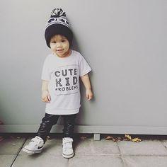Visiting my auntie and uncle in Toronto so I gotta wear @tdotkids! #ootd #fashionista #fashionkids #ministyle #toddlerlife #vacation #hypebeastkids #minilicious #nikekids #nikekicks #tdot #tdotkids #whistleandfluteclothing #kidmodel #igdaily #like4like #iphonesia #iphoneonly #monochromatic #littlebabe #kidstyle #cutekidsclub #cutest_kiddies