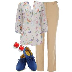 """""""Teacher Outfits on a Teacher's Budget 137"""" by allij28 on Polyvore"""