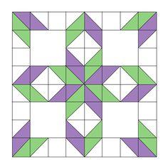 West virginia quilt block option 1