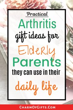 Thoughtful and practical arthritis gift that are perfect for an aging parent or grandparent. You can also take these gifts for them when visiting the nursing home. These gifts will make their daily life much easier.