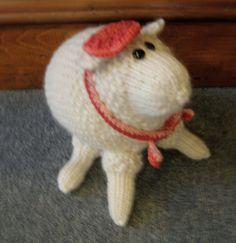 Ewe-jean  Serendipity Spinners Mascot