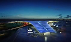 The New Kuwait International Airport Flies into the Future #scifi #architecture trendhunter.com