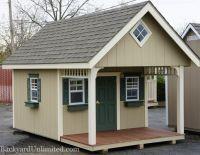 8x12 Chalet Style Playhouse