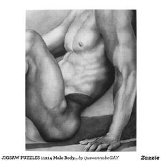 JIGSAW PUZZLES 11 x 14 Male Body Builder in Gift Box. Great Christmas Gift idea and Coll Gifts!  $25.85