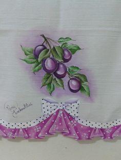 Barrado falso feito por mim Fruit Picture, Lace Art, Paint Samples, One Stroke Painting, Art Tutorials, Cooking Recipes, Pasta, Stencils, Decoupage