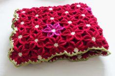 flower blanket | haekelmonster | Edie Eckman