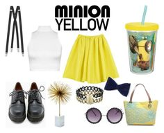 """""""Minion !"""" by villa-thoj ❤ liked on Polyvore featuring Zak! Designs, WearAll, Yves Saint Laurent, Sixtyseven, Emilie M, Two's Company and Michael Kors"""