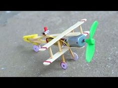 How to make Aeroplane with DC motor – [ wooden plane ] - Stofftiere