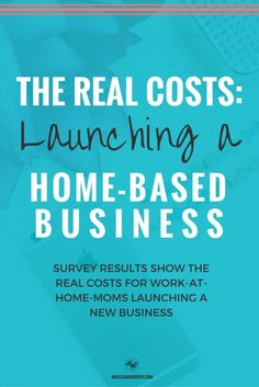 Find out what the real costs are for launching a home business. Real-life results from survey questions included. Click through to learn more. http://www.hustleandgroove.com/launching-home-business
