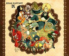 Final Fantasy IX Final Fantasy 3, Game Art, Finals, Videogames, Geek Stuff, Illustration, Geek Things, Playroom Art, Video Games