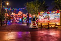 Cars Land Tips & Tricks - Hidden details, how to save time in line, Cars at Christmas, and more!